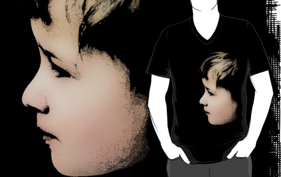 Little boy (T-Shirt & iPhone case) by Lenka