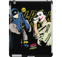 The Post-Punk Face-Off iPad Case/Skin