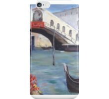 After Colley Whisson- Rialto Bridge iPhone Case/Skin