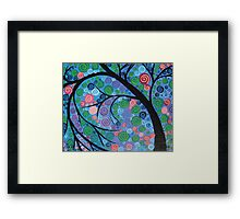 Shimmer Tree Framed Print