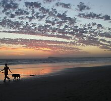 Ocean Grove sunset by nizzadotcom
