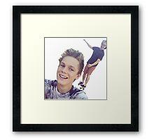Tyler Oakley and Casper Lee Framed Print