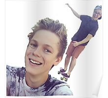 Tyler Oakley and Casper Lee Poster