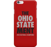 The Ohio State MENT National Champions 2014-2015 shirt sweatshirt and more iPhone Case/Skin