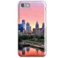 Colorful Philly Skyline iPhone Case/Skin