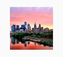 Colorful Philly Skyline Unisex T-Shirt