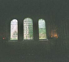 Inscribed Church Windows by Lauren Heather Lay