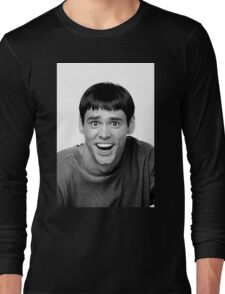 Jim Carrey from Dumb and Dumber Long Sleeve T-Shirt