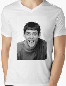 Jim Carrey from Dumb and Dumber Mens V-Neck T-Shirt