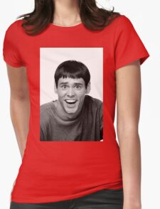Jim Carrey from Dumb and Dumber Womens Fitted T-Shirt