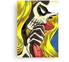 The Love Bones Canvas Print