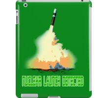 Nuclear Launch Detected iPad Case/Skin