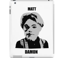 Matt Damon iPad Case/Skin