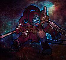 Night Hunter Rengar by Kaegro