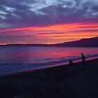 Banderas Bay Sunset by dwcdaid