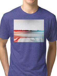 Digital Landscape #10 Tri-blend T-Shirt