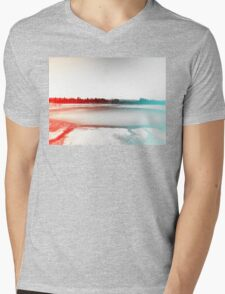 Digital Landscape #10 Mens V-Neck T-Shirt
