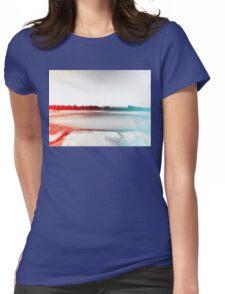 Digital Landscape #10 Womens Fitted T-Shirt