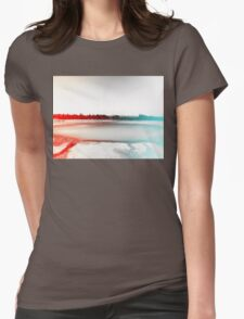 Digital Landscape #10 Womens Fitted T-Shirt