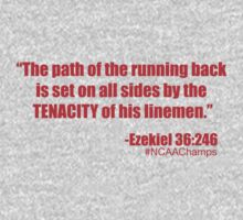 The Path of the Running Back (Scarlet) T-Shirt