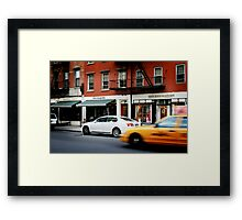 Sympathy In The City Framed Print