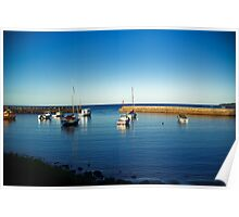 Waterscape: Illawarra, Shellharbour boat harbour Poster