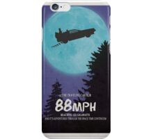 88mph (ET Movie Poster Parody) iPhone Case/Skin