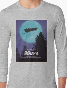 88mph (ET Movie Poster Parody) Long Sleeve T-Shirt