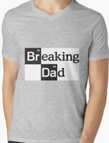 Breaking Dad Mens V-Neck T-Shirt