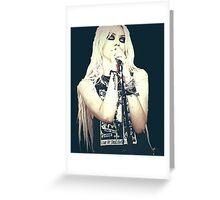 Taylor Momsen Greeting Card