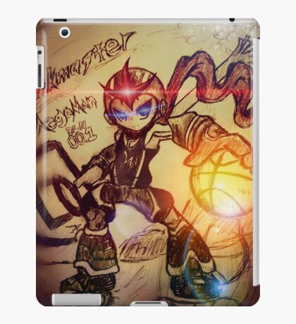 Dunk Master megaman iPad Case/Skin