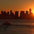 Vancouver sunset by zumi