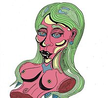 Pieces of Her: Torso (Transparent) by braedenarnold