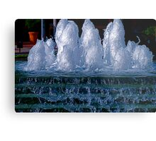 Ice Sculptures Metal Print