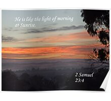 You are My Sunrise Poster