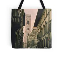 Backstreets of Florence, Italy Tote Bag