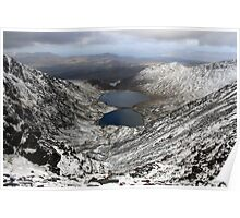 Winter view from Carruntoohil Poster