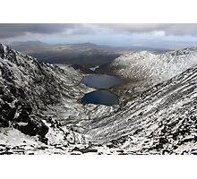 Winter view from Carruntoohil Photographic Print