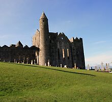 Rock of Cashel view by John Quinn