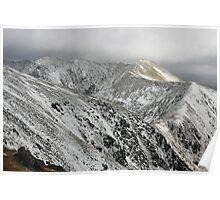 Macgillycuddy Reeks peaks Poster