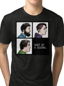 Shut Up a Second 2015 Logo Tri-blend T-Shirt
