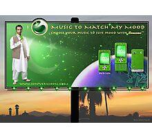 Limited Edition Pakistan 60th Anniversary Sony Ericsson Walkman W910i phone Photographic Print