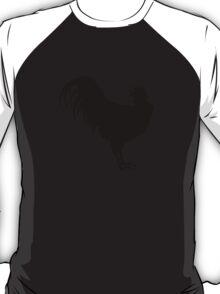 Big Black Rooster T-Shirt