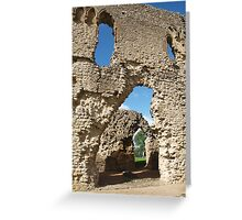 Sherborne Old Castle (12) Greeting Card