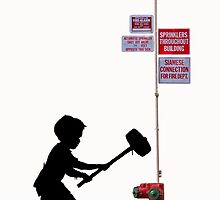 Banksy Hammer Boy by Simon04