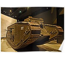 Tank - War Memorial  - Canberra Poster