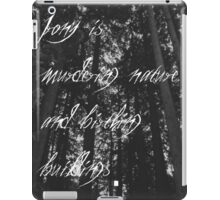 Murder of The Natural World iPad Case/Skin