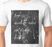 Murder of The Natural World Unisex T-Shirt
