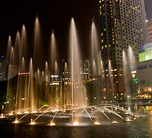 KLCC Suria Fountain by MiImages