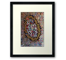 An implosion EXPLOSION Framed Print